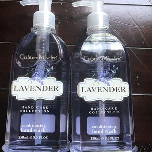 Other - 2 Crabtree & Evelyn Lavender conditioning hand